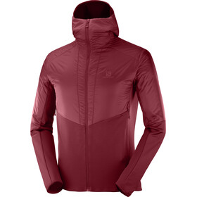 Salomon Outline Warm Jacket Herr Biking Red